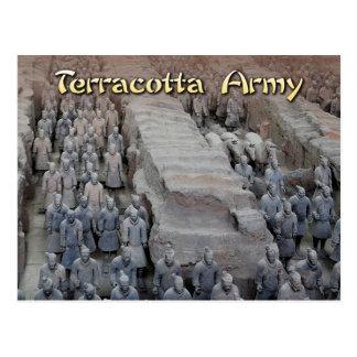 El ejército de la terracota del primer emperador tarjeta postal