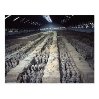 El ejército de la terracota, Xian, China, postal