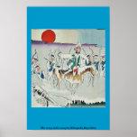 El ejército derrite lejos por Kobayashi, Kiyochika Posters