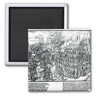 El ejército inglés que marcha con sir Henry Sidney Iman De Nevera