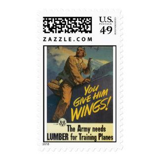 El ejército necesita franqueo de la guerra mundial