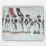 El ejército parisiense durante el francés tapete de ratones