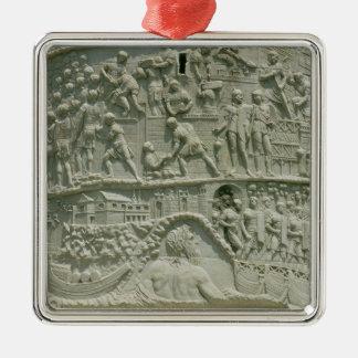 El ejército romano que cruza el Danubio Ornamente De Reyes