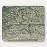 El ejército romano que cruza el Danubio Alfombrillas De Ratón