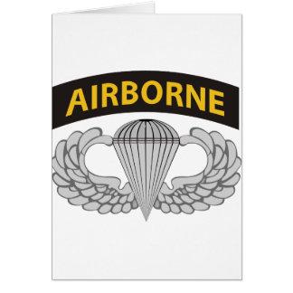 El ejército salta las alas W/Tab Felicitaciones