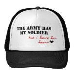 El ejército tiene mi soldado, pero tengo su corazó gorra
