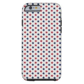 El el blanco rojo y azul funda de iPhone 6 tough