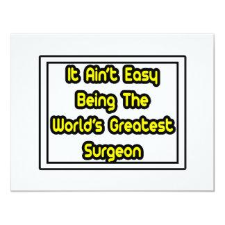 Él el cirujano más grande… del mundo fácil de Aint Comunicado Personalizado