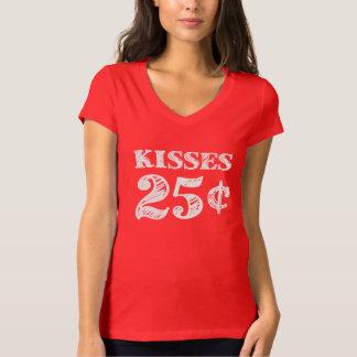 El el día de San Valentín besa 25 centavos Polera