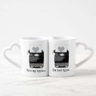 El el día de San Valentín el | de la diversión Set De Tazas De Café