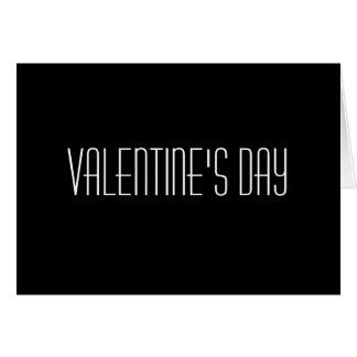 El el día de San Valentín no es nadie hora conseg Felicitación