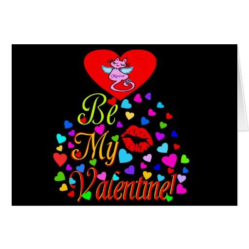 el el día de San Valentín ♫♥Romantic Tarjeta-Es mi