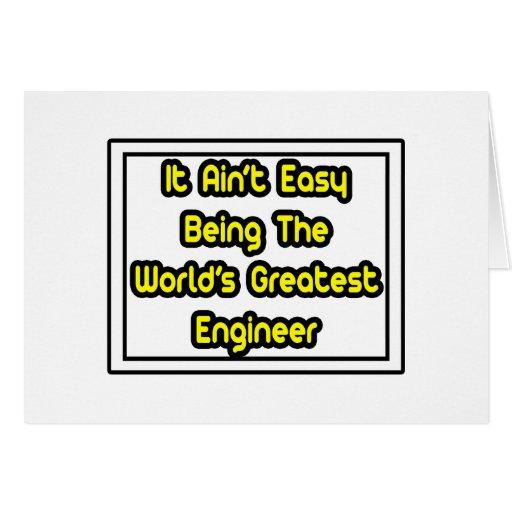 Él el ingeniero más grande… del mundo fácil de Ain Felicitacion