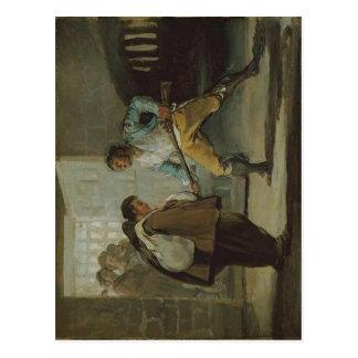El EL Maragato de Francisco de Goya y Lucientes am Tarjeta Postal