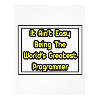 Él el programador más grande… del mundo fácil de A Tarjetón