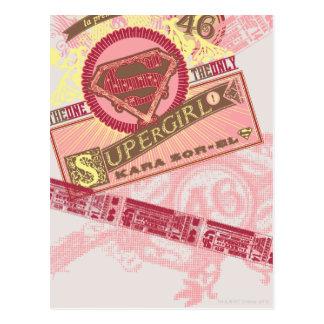 El el único Supergirl Tarjeta Postal