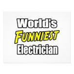 El electricista más divertido del mundo comunicados personales