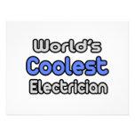 El electricista más fresco del mundo anuncio personalizado