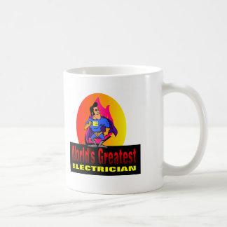 El electricista más grande del mundo taza de café