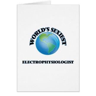 El Electrophysiologist más atractivo del mundo Tarjeta De Felicitación