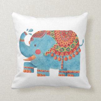 El elefante azul almohadas