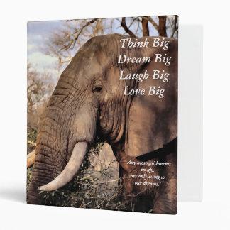 """¡El elefante de los amantes de la fauna piensa gra Carpeta 1"""""""