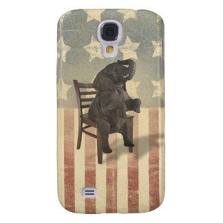 El elefante del GOP asume el control el político Funda Para Galaxy S4