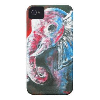 El elefante elegante inteligente iPhone 4 Case-Mate cárcasas