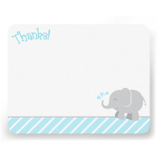 El elefante le agradece las tarjetas de nota el |  invitacion personal