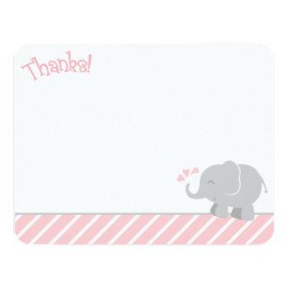 El elefante le agradece las tarjetas de nota el | anuncios