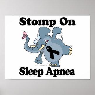 El elefante pisa fuerte en Apnea de sueño Impresiones