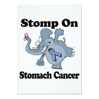 El elefante pisa fuerte en cáncer de estómago invitación