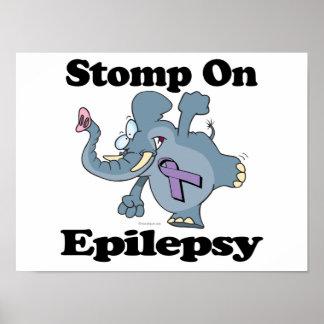 El elefante pisa fuerte en epilepsia impresiones