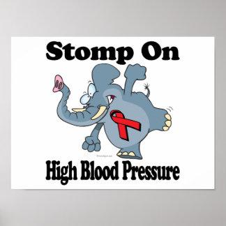 El elefante pisa fuerte en la tensión arterial alt poster