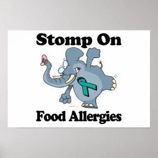 El elefante pisa fuerte en las alergias alimentari poster