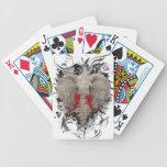 El elefante que falta cartas de juego