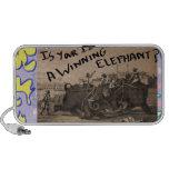 El elefante que gana mp3 altavoces