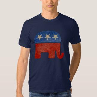 El elefante republicano se descoloró playera