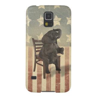 El elefante republicano toma a presidentes Chair Funda Galaxy S5