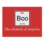 El elemento de tabla periódica de la sorpresa es a postales