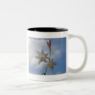 El elevarse taza de café