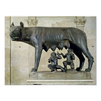 El Ella-Lobo de Capitoline Posters