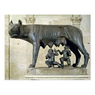 El Ella-Lobo de Capitoline Postal