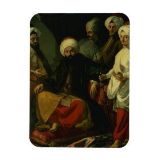 El embajador turco y su comitiva en el Co Imán De Vinilo