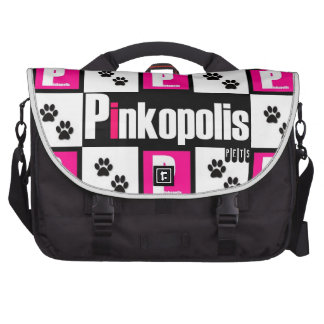 ¡El embalar con los mascotas de Pinkopolis! Bolsa De Ordenador