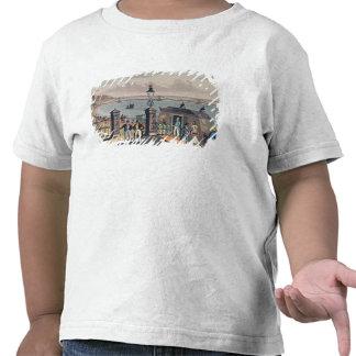 El embarcadero de cadena en el frente en Brighton Camiseta