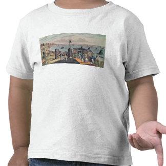 El embarcadero de cadena en el frente en Brighton Camisetas