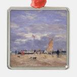 El embarcadero en Deauville, 1869 Adorno De Navidad