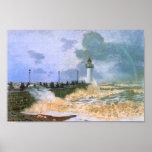 El embarcadero en Le Havre - Claude Monet Posters