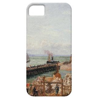 El embarcadero, Le Havre, alta marea, mañana Sun Funda Para iPhone SE/5/5s